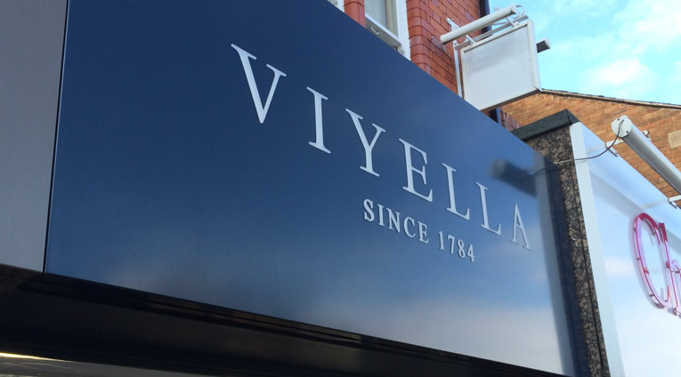 Country Casuals Viyella Cabot Neon Signs