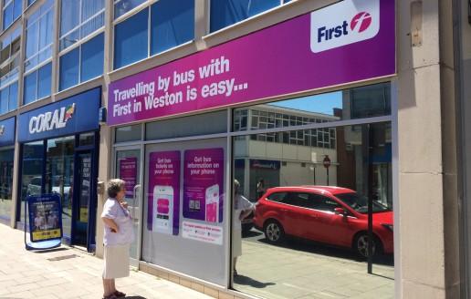 First Bus Weston-Super-Mare Travel Shop