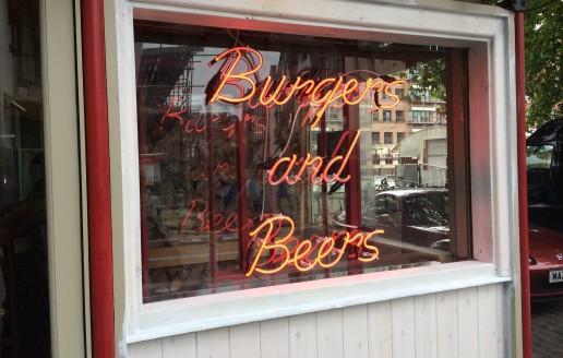 New Neon Sign For Bristol Burger Restaurant
