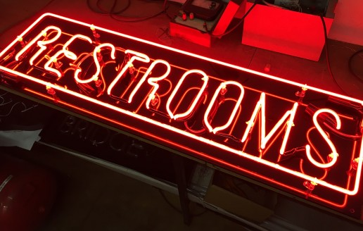 Clear Red Neon – Ready For American Diner